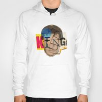 king Hoodies featuring King by Marko Köppe