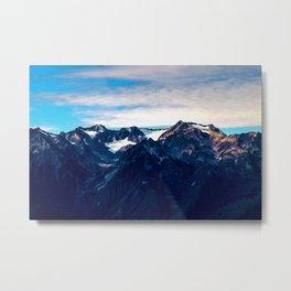 Mt. Olympus, Olympic National Park, Washington Metal Print