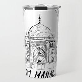 Taj mahal ink Travel Mug