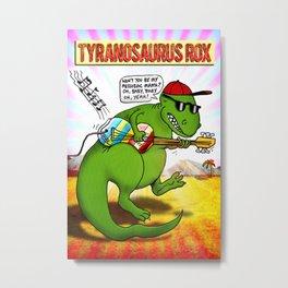 Jurassic Rock Metal Print