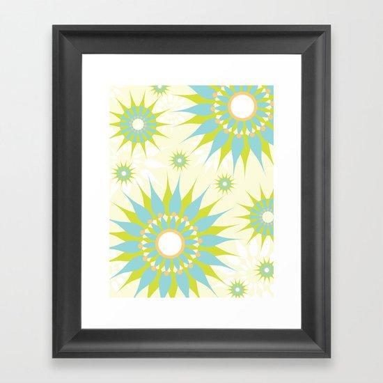 Popsy Twirl Framed Art Print