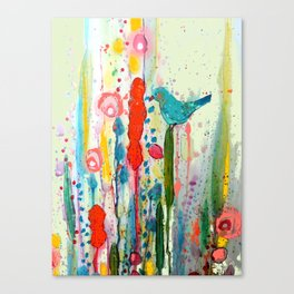 vivant Canvas Print