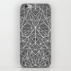 Abstract Lace on Black iPhone & iPod Skin