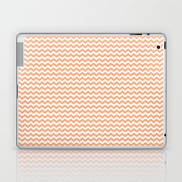 Chevron Orange Laptop & iPad Skin