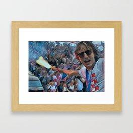 Modric Framed Art Print