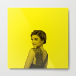 Lucy Hale - Celebrity (Florescent Color Technique) Metal Print