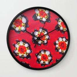 Nevada Rose Wall Clock
