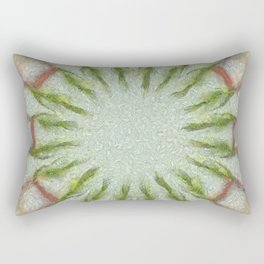 Peeped Disposition Flowers  ID:16165-093506-91430 Rectangular Pillow