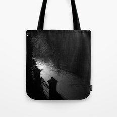 A Dark Winter Night Tote Bag
