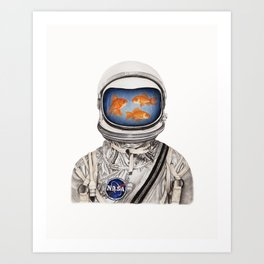 Space For All Art Print