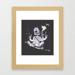 Purple Mountain Majesty Framed Art Print