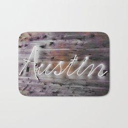 Austin NeonSign Bath Mat