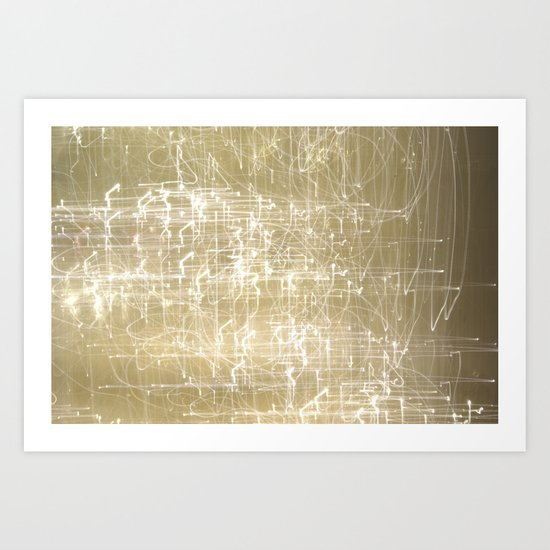 Exploding Fairies. Art Print