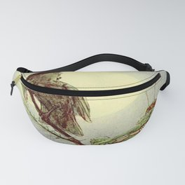 """""""Nightingale in the Moonlight"""" by Alice B. Woodward (1886) Fanny Pack"""