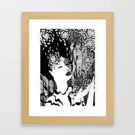 Slowly Falling Apart Framed Art Print