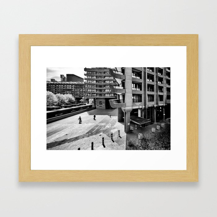 The Three and The Ominious Barbican City Framed Art Print