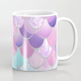 Mermaid Sweet Dreams, Pastel, Pink, Purple, Teal Coffee Mug