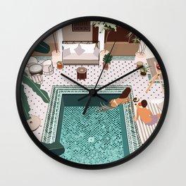 Riad Yasmine, Marrakech Wall Clock
