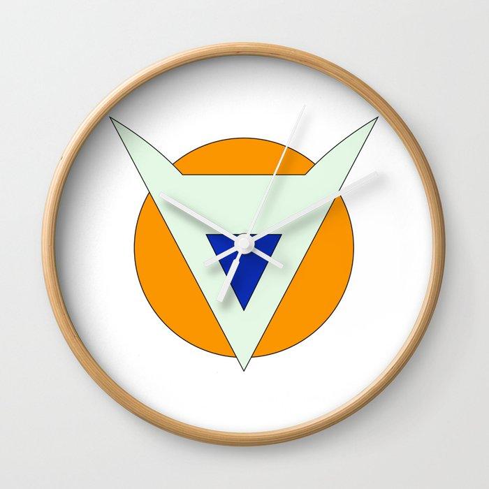 Dragonball Ginyu Force Wall Clock By Tridaak Society6