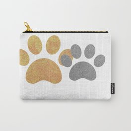 Paw prints with a splash of sparkle Carry-All Pouch