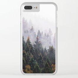 The Big Calm Clear iPhone Case