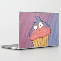 cupcake Laptop & iPad Skins featuring Cupcake by Ollie Bright Art