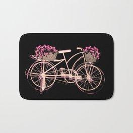 Pink bike Bath Mat