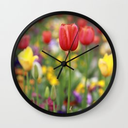 Flower Photography by Lonely Photographer Wall Clock