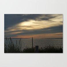 Sunset in Montauk Canvas Print