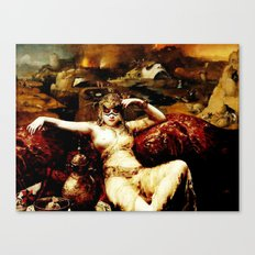 Weight of the World Canvas Print