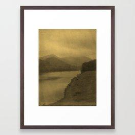 little pine Framed Art Print