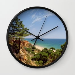 Praia da Falesia, Portugal Wall Clock