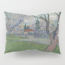 Orchards in Blossom, View of Arles Pillow Sham