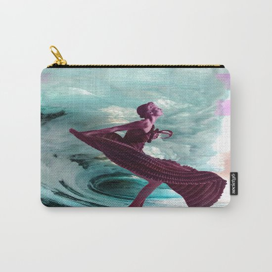 If you're not making waves, you're not underway Carry-All Pouch