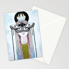 moth queen Stationery Cards