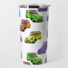 2cv pattern small Travel Mug