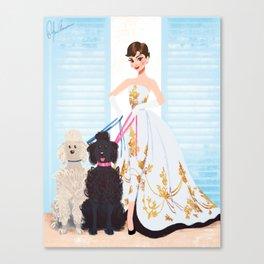 Sabrina - Audrey Hepburn Canvas Print