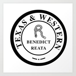 Benedict Reata Ranch (GIANT) Art Print
