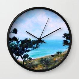 Fine, Fine Torrey Pine Wall Clock