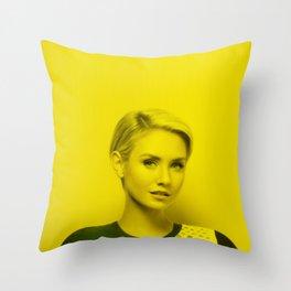 Nikki Whelan - Celebrity (Florescent Color Technique) Throw Pillow