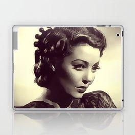 Loretta Young Laptop & iPad Skin