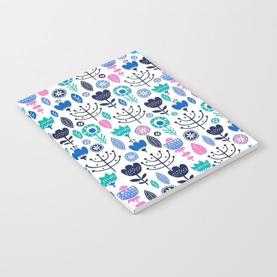 Flourish (Blues) Notebook