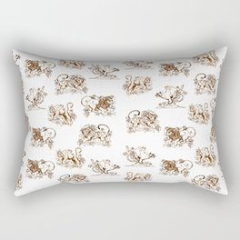 Big Cats Rectangular Pillow