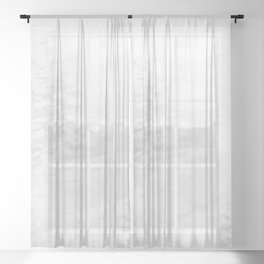White Marble Silver Glitter Gray Sheer Curtain
