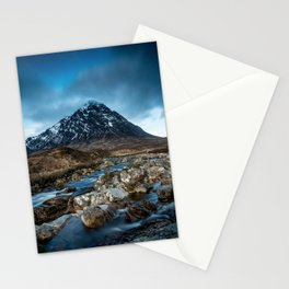 Mountain river Stationery Cards