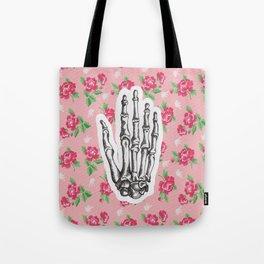 Hand bones Tote Bag
