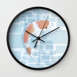 Koi-ly Serene Wall Clock