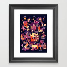 Structura 9 Framed Art Print