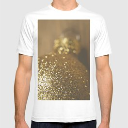 Gold Christmas Ball Ornament T-shirt