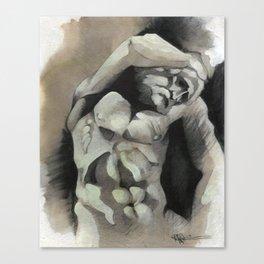Bearded Slave Canvas Print